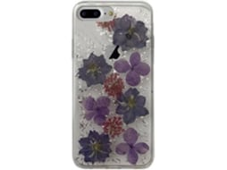 Capa PURO Hippie chic iPhone 6 Plus, 6s Plus, 7 Plus, 8 Plus Roxo — Compatibilidade: iPhone 6 Plus, 6s Plus, 7 Plus, 8 Plus