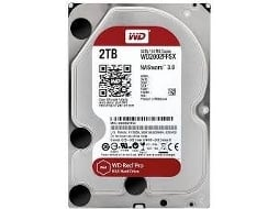 Disco interno 3.5'' WESTERN DIGITAL Red Pro 2TB — 3.5'' | 2 TB | Sata 6 GB/s