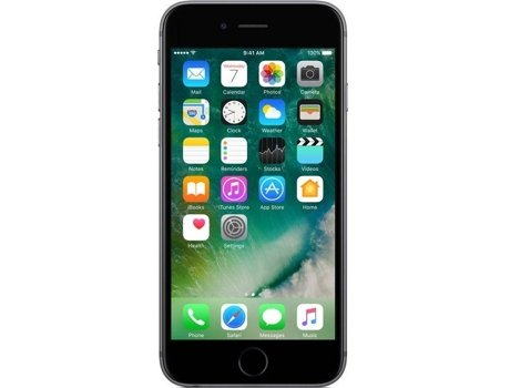 Smartphone APPLE iPhone 6s 32GB Cinzento sideral — iOS 10 / 4.5'' / A9