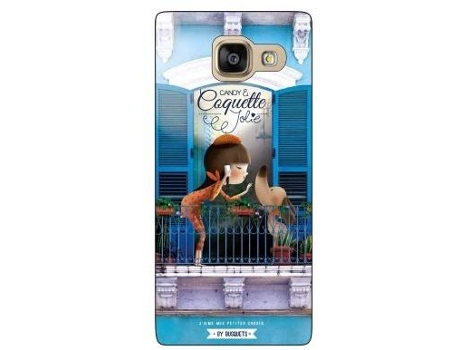 Capa COQUETTE Balcão Samsung Galaxy A3 2016 Multicor