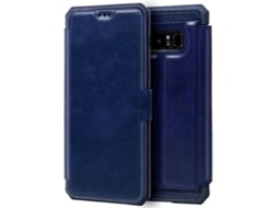 Capa Samsung Galaxy Note 8 Leather Azul
