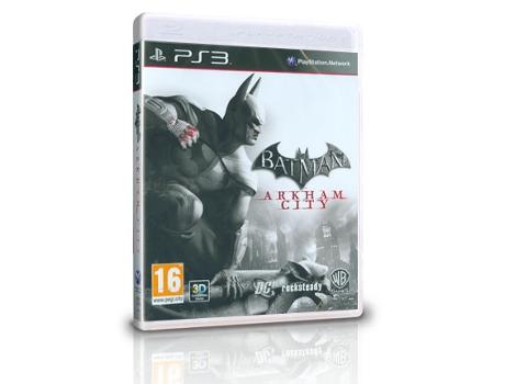Jogo PS3 Batman  Arkham City  cd2a004cd8f