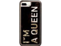 Capa SBS Queen iPhone 6 Plus, 6s Plus, 7 Plus, 8 Plus Preto — Compatibilidade: iPhone 6 Plus, 6s Plus, 7 Plus, 8 Plus