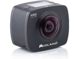 Action Cam FULL HD & WI-FI MIDLAND H180 — Full HD | 8MP | Até 30 minutos