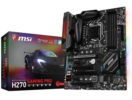 Motherboard MSI H270 Gaming Pro Carbon — LGA1151 | H270