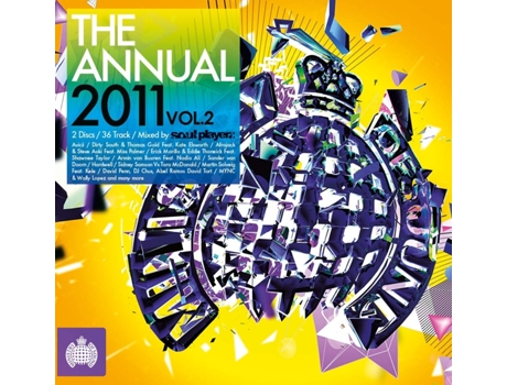 CD Ministry Of Sound - The Annual 2011 Vol.2 — House / Electrónica
