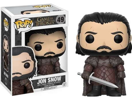 Figura Vinil FUNKO POP! Game of Thrones: Jon Snow Season 7 — Game Of Thrones