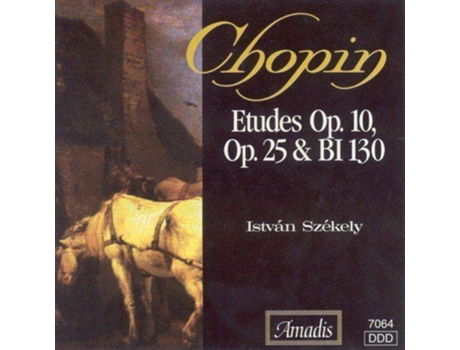 CD Chopin - Etudes (Complete) — Clássica