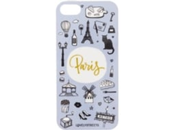 Capa LOVELY STREETS Paris New Design iPhone 6, 6s — Compatibilidade: iPhone 6, 6s, 7 ,8