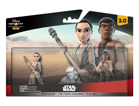 Figura Disney Infinity 3.0 Star Wars - The Force Awakens Playset — Coleção: Star Wars