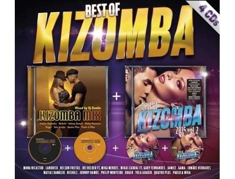 CD Vários - Best Of Kizomba (Pack) — Kizomba