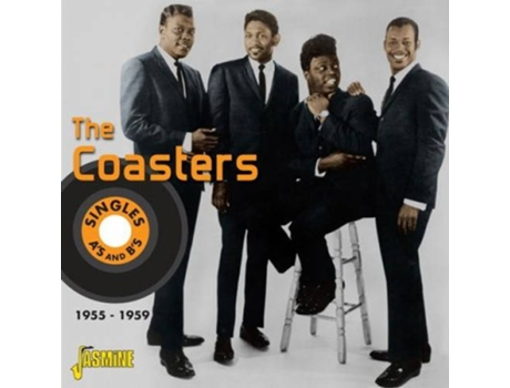 CD The Coasters - Singles A'S And B'S 1955 - 1959