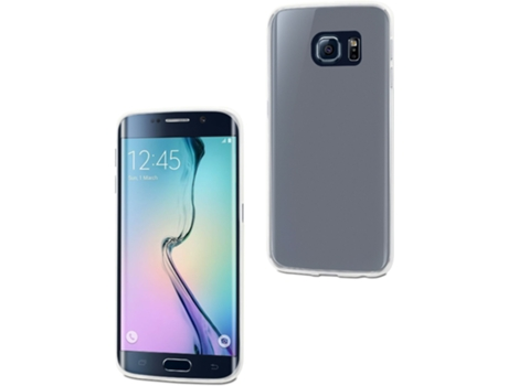 Capa Galaxy S6 Edge MUVIT Transparente — Capa / Galaxy S6 Edge