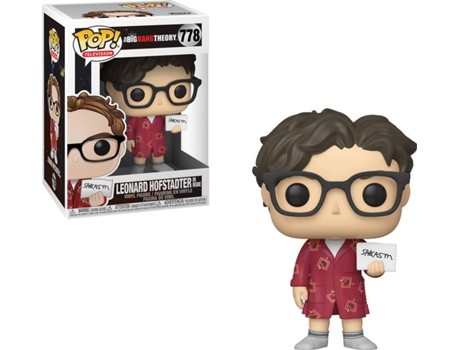 Figura FUNKO Pop! Tv: Big Bang Theory S2 - Leonard