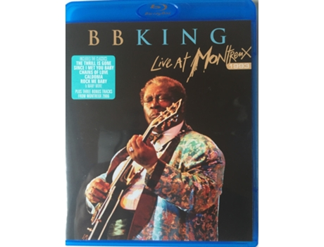 Blu-ray B.B. King - Live At Montreux 1993