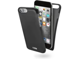 Capa SBS Color Feel iPhone 7/6/6S Plus Preto — Compatibilidade:  iPhone 7/6/6S Plus