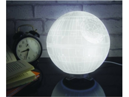 Candeeiro 3D USB STAR WARS Death Star — Star Wars