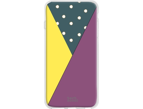 Capa Samsung Galaxy A9 2018 TECHCOOL Geometria Multicor