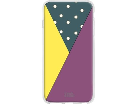 Capa Wiko View 2 TECHCOOL Geometria Multicor