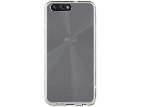 Capa MUVIT Crystal Soft Asus Zenfone 4 Transparente — Compatibilidade: Asus Zenfone 4