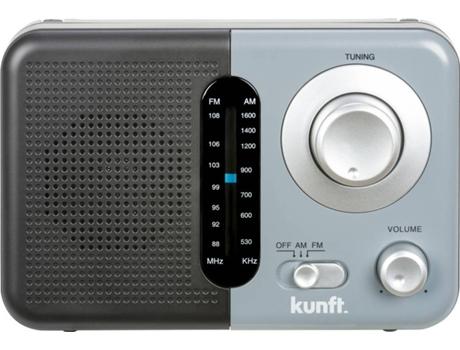Rádio Portátil Kunft  Kpr4173 Cinzento   [6635845 ]