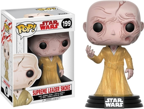Figura Vinil FUNKO POP! Star Wars: Supreme Leader Snoke — Star Wars