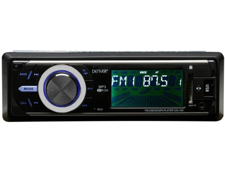 Autorrádio DENVER Cau-438 — 25 W / MP3, USB, SD