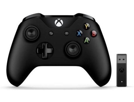 Comando Gaming XBOX MICROSOFT 4N7-00002 Preto — Wireless