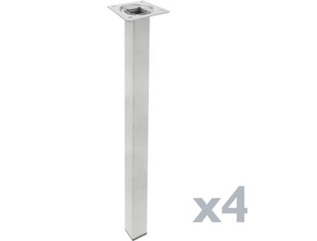 Conjunto de 4 Pernas de Mesa CABLEMATIC IO08300 (75cm)