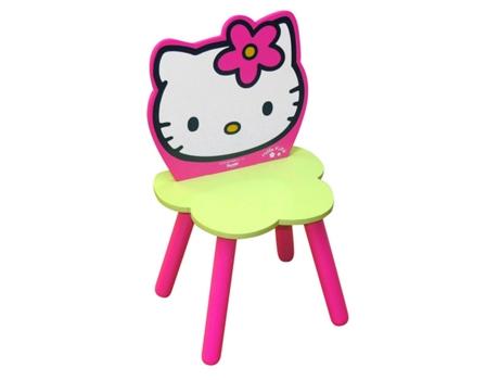 HELLO KITTY - Cadeira de Madeira HELLO KITTY Flor