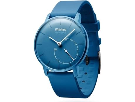 Relógio Desportivo WITHING Activité Pop (Bluetooth - Até 8 meses de autonomia - Azul)
