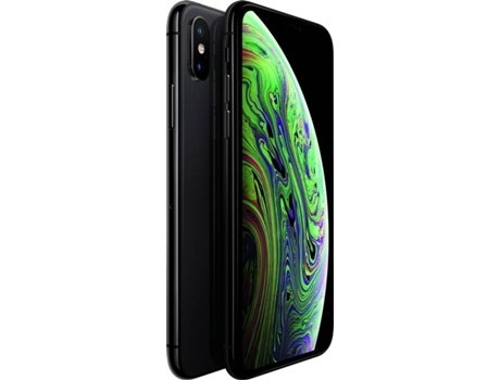 iPhone XS APPLE (5.8'' - 4 GB - 256 GB - Cinzento Sideral) — 4 GB RAM | Single SIM | 2 Câmaras traseiras