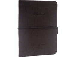 Caderno A5 MAKE NOTES Textured Brown — Caderno
