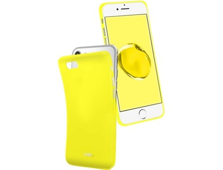 Capa SBS Cool iPhone 6, 6s, 7, 8 Amarelo — Compatibilidade: iPhone 6, 6s, 7, 8