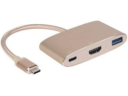 Cabo adaptador INNERGIE Type-C — USB Tipo C  | HDMI | USB 3.0