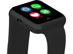 Smartwatch NO.1 D3 Preto — Android / 380 mAH