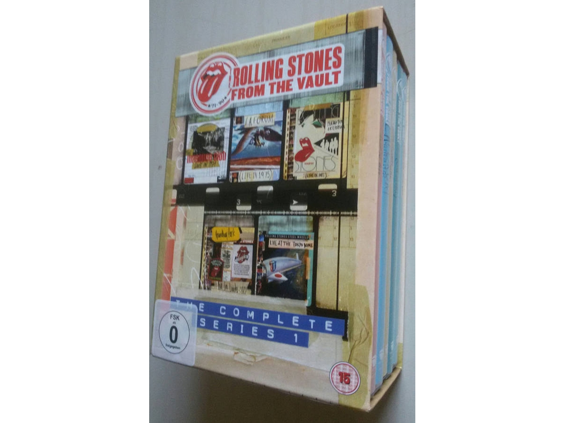 Box Set DVD Rolling Stones From The Vault, The Complete Series 1