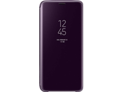 Capa SAMSUNG Clear View Galaxy S9 Roxo — Compatibilidade: Samsung Galaxy S9