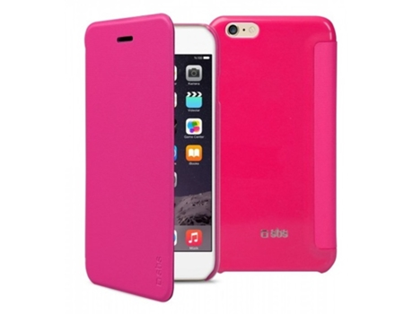 Capa SBS Book Valentina iPhone 6, 6s Rosa — Compatibilidade: iPhone 6, 6s, 7 ,8