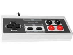 Comando para Nintendo Classic Mini Turbo Wired GIOTECK — Nintendo Classic Mini