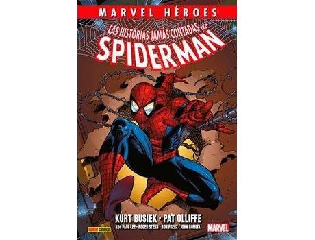 PANINI / MARVEL - Livro Las Historias Jamas Contadas De Spiderman de Kurt Busiek (Espanhol)