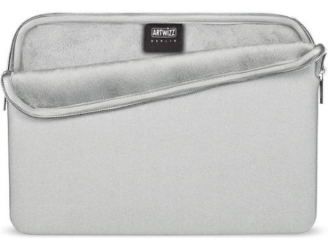Bolsa ARTWIZZ Neoprene MacBook 12'' Prata — 12''