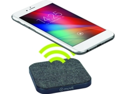Carregador Wireless MUVIT MUWIR0009  Cinza — Qi | 2A