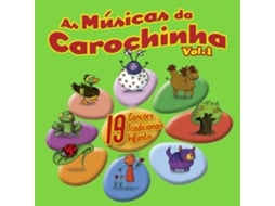 CD Carochinha-As Músicas da Carochinha Vol.1 — Infantil
