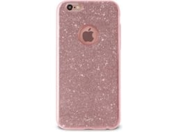 Capa PURO Shine iPhone 6/6S Rosa Gold — Compatibilidade: iPhone 6/6S