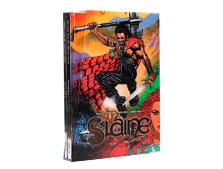 YERMO EDICIONES - Livro Cofre Slaine de Pat Mills (Espanhol)