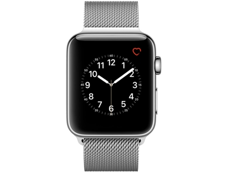 Apple Watch APPLE Series 2 42 mm Prateado — Wi-fi e Bluetooth | 273 mAh | iOS