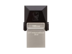 Pen USB KINGSTON OTG DT DUO3 - 16GB — 16 GB | Micro USB