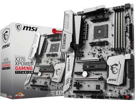 Motherboard MSI X370 XPOWER GAMING TITANIUM — AM4 / X370