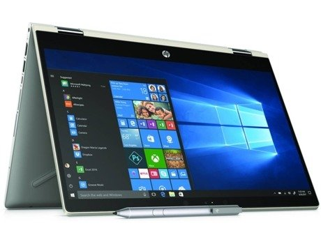 Portátil 14'' HP Pavilion x360 14-cd0004np — Intel Core? i5-8250U | 8 GB | 256 GB SSD | NVIDIA GeForce MX130